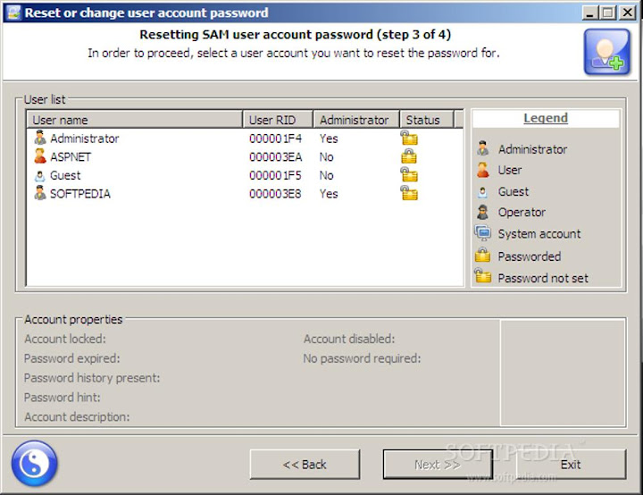 Reset Windows 7 Password 03