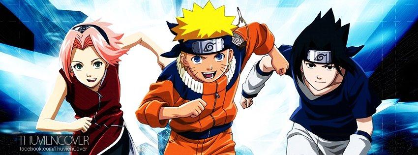Ảnh bìa Naruto cực đẹp cho Facebook