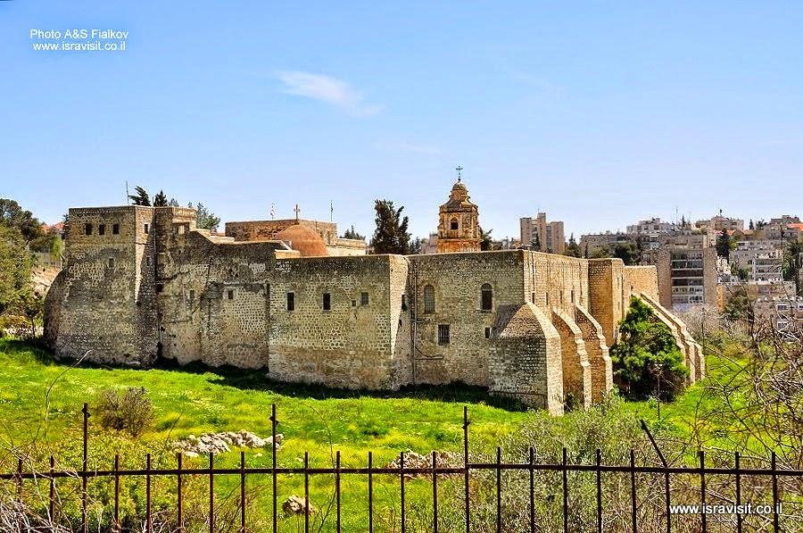 Монастырь Святого Креста в Иерусалиме. Экскурсия в Иерусалиме Светланы Фиалковой.