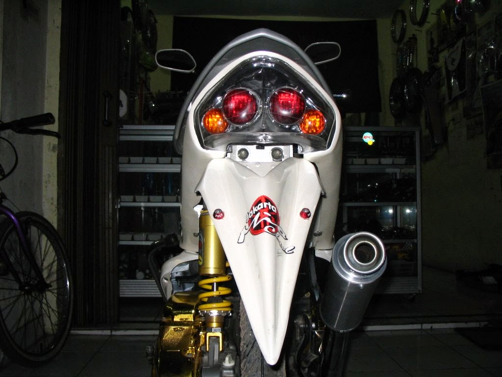 Modif Yamaha Mio Standar