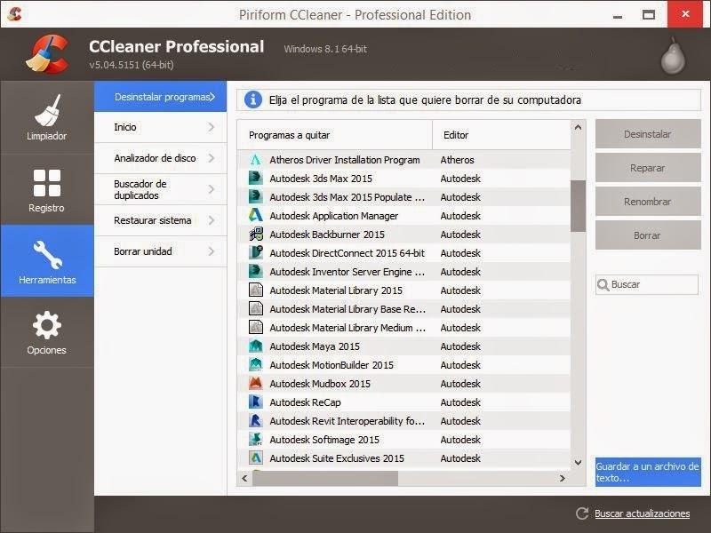 CCleaner v5.04.5151 PRO [32/64Bits][Portable][Full][Español] - Limpia y Optimiza Tú PC 9 CCleaner2