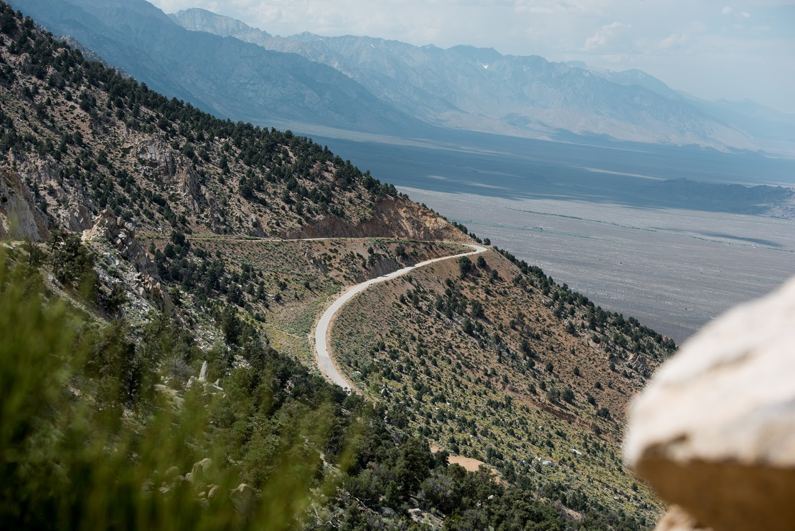 Hairpin #2 on Horseshoe Meadow Road, Lone Pine, Owens Valley, CA