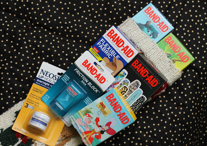 Last Minute Stocking Stuffers: Band-Aid & Neosporin Brands
