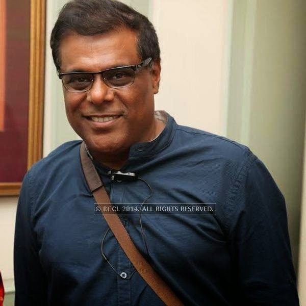 Ashish Vidyarthi attends the book launch of Maya Rao's autobiography, titled Maya Rao - A Lifetime in Choreography at ITC Windsor, Bangalore.