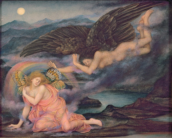Evelyn De Morgan - Death of a Butterfly