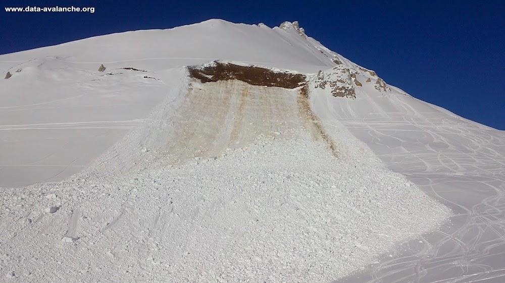 Avalanche Vanoise, secteur Aiguille Grive, Epaule Sud de l'Aiguille Grive - Les Arcs - Photo 1