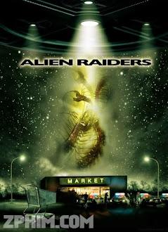 Tử Chiến Quái Vật Hành Tinh - Alien Raiders (2008) Poster