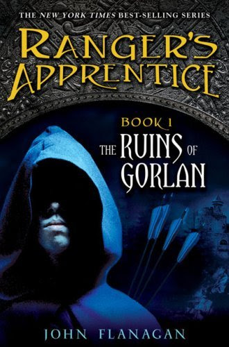 The Ruins of Gorlan (Ranger's apprentice, book 1), by John Flanagan USA cover art