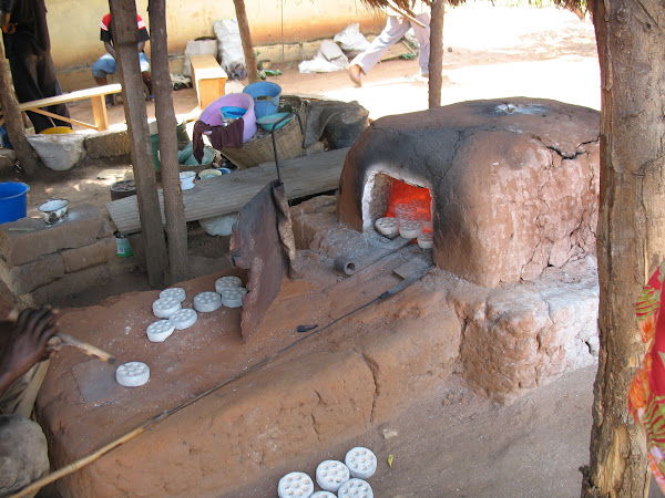 Krobo Kiln and Bead Molds
