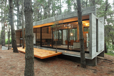casa5 Casa Cher: Arsitektur Modern Yang Bersahabat Dengan Alam