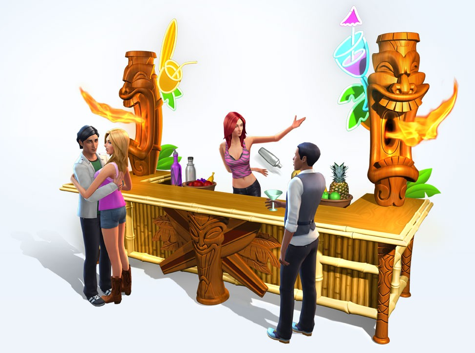 De Sims 4 Feestbeest materiaal