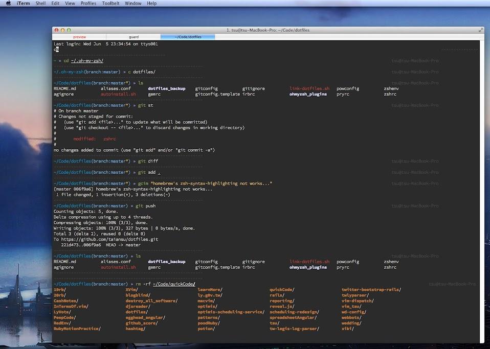 Prettier OSX CLI