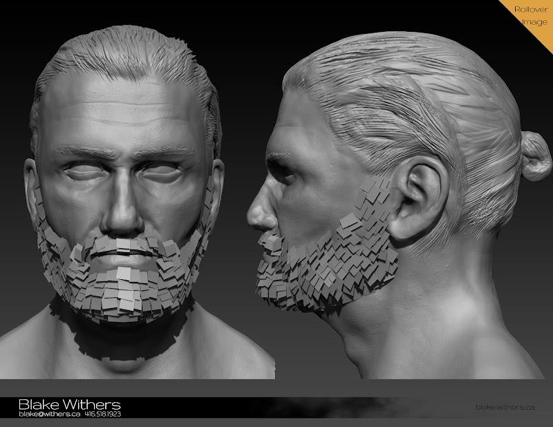 Blake Withers: Cullen Bohannon (sculpt)