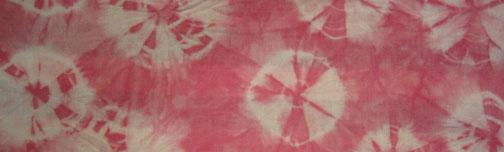 pink kumo shibori