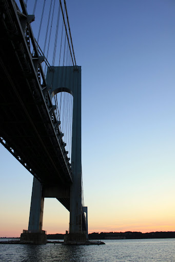 Verrazano-Narrows Bridge Night View