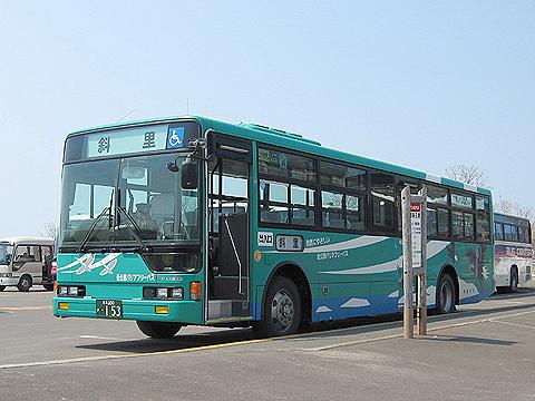 斜里バス 三菱エアロスター TLEV