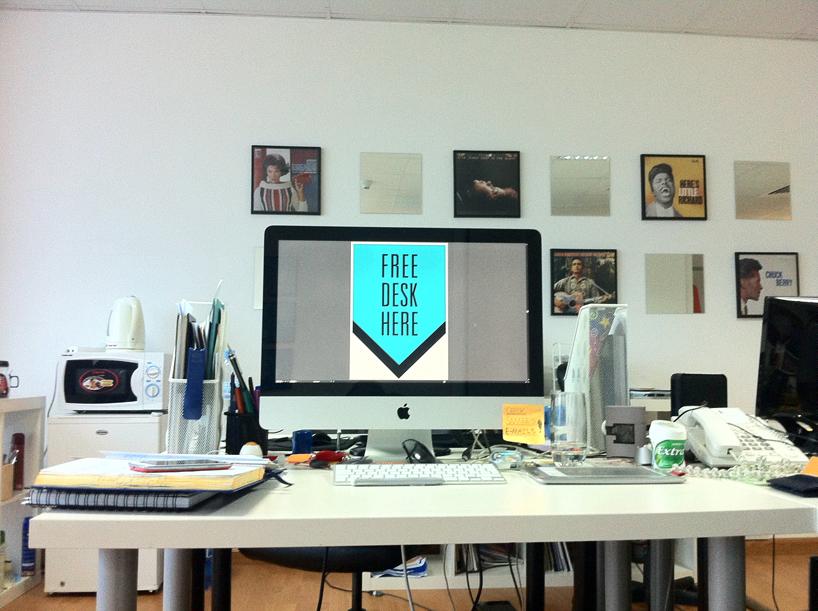 *FREE DESK HERE免費工作室辦公桌:在這裡! 7