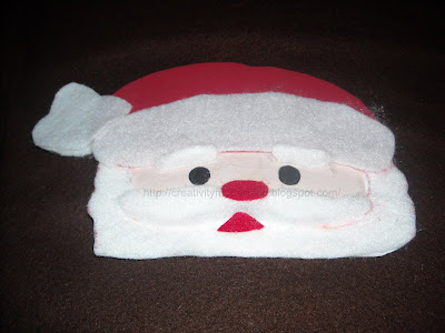 Santa Claus Mask/Ornament