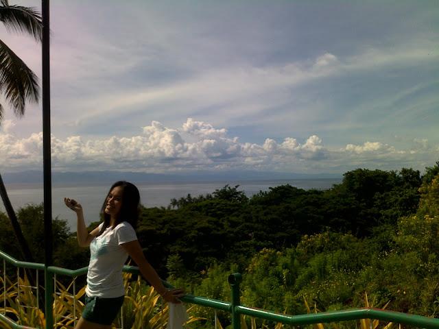 cloud goddess at samboan church park, cebu, philippines