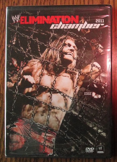 EXCLUSIVE FIRST LOOK PHOTOS - WWE Elimination Chamber 2011 DVD