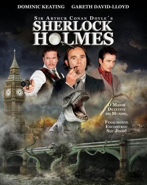 Filme Poster Sherlock Holmes de Sir Arthur Conan Doyle DVDRip XviD Dual Audio & RMVB Dublado