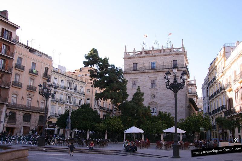 Foto del Palau de la Generalitat, original del s. XVI