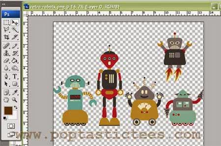 retro robots cynthia bauzon arre
