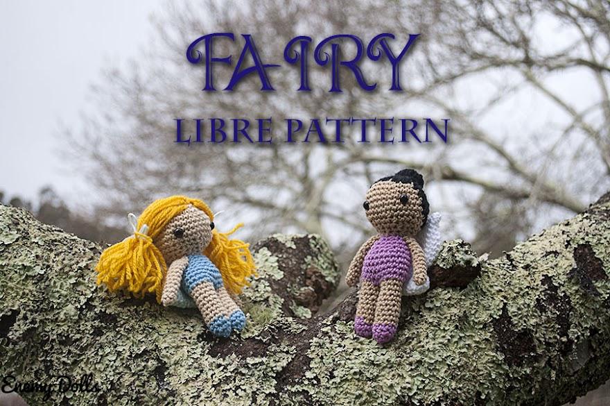 Free amigurumi pattern - fairy