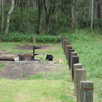 Fire pits at Bungaree Bay