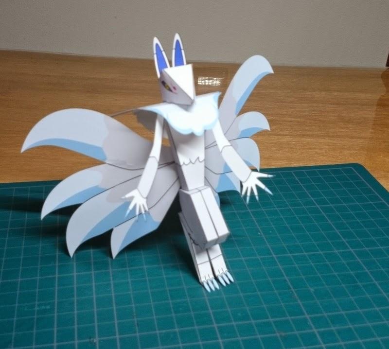 Yokai Watch Inugami Papercraft