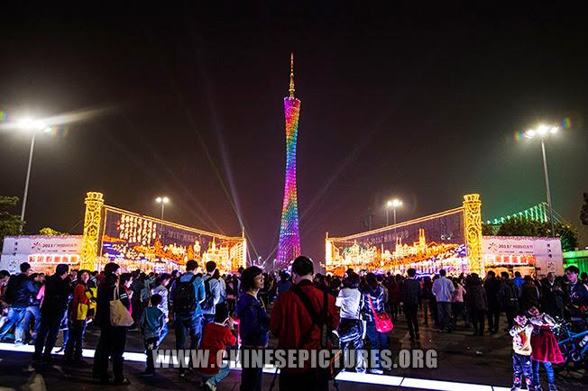 Guangzhou Tower Night Photo 1