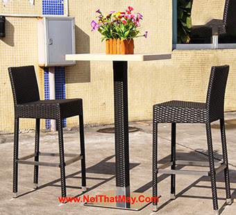 Outdoor Wicker Bar Set Minh Thy 831