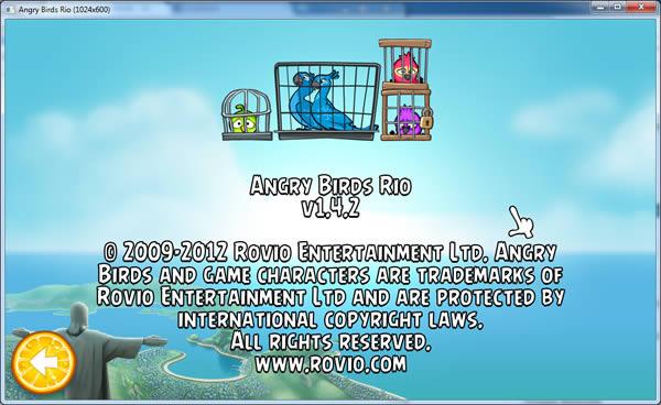 Angry Birds RIO 1.4.2 para PC Windows y Linux