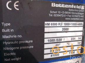 Battenfeld HM 6500 R2/1000+1000+400L (2000)