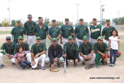 Club Amigos del torneo dominical de softbol