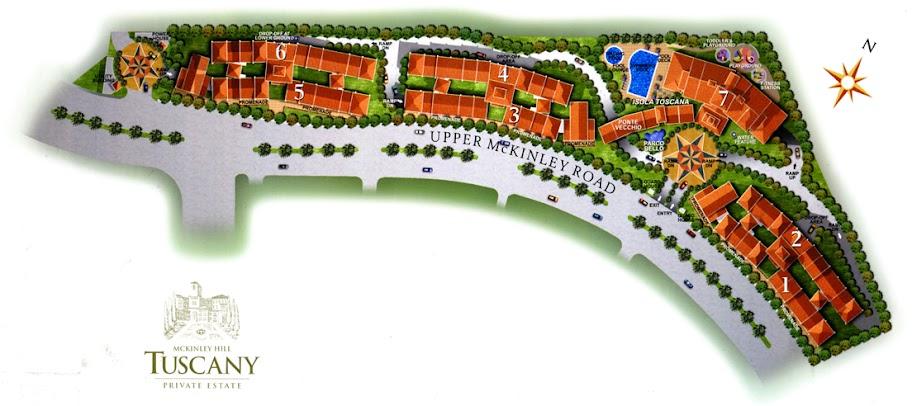 Tuscany Site Development Plan