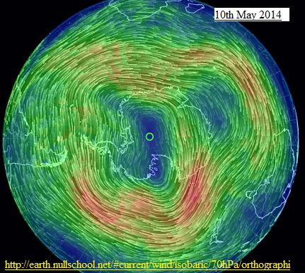 10th may 2014 SH 70mb wind streams