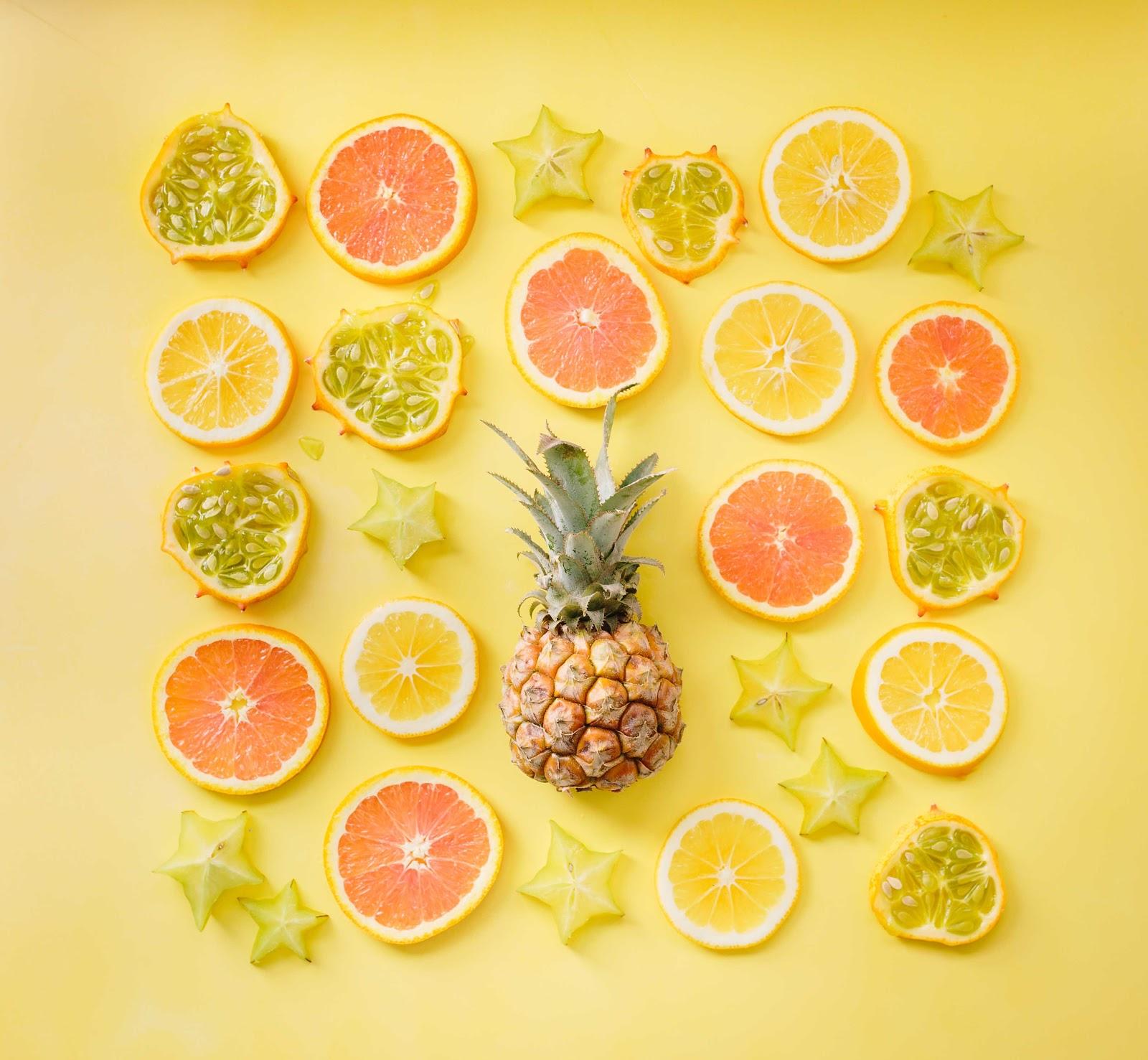 fruit juices in summer