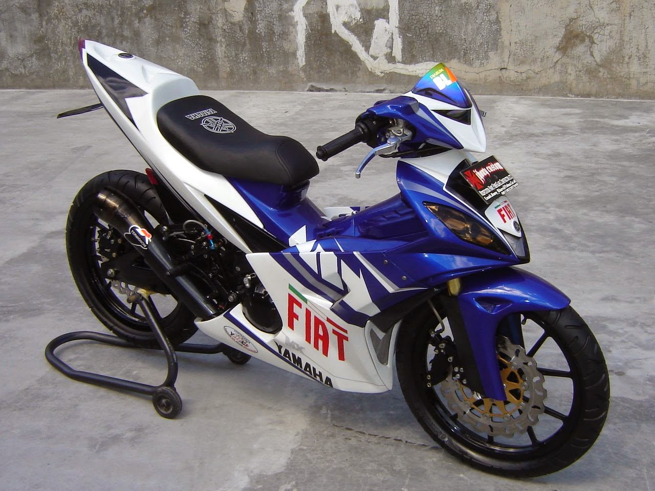 Jupiter Mx Modifikasi Warna