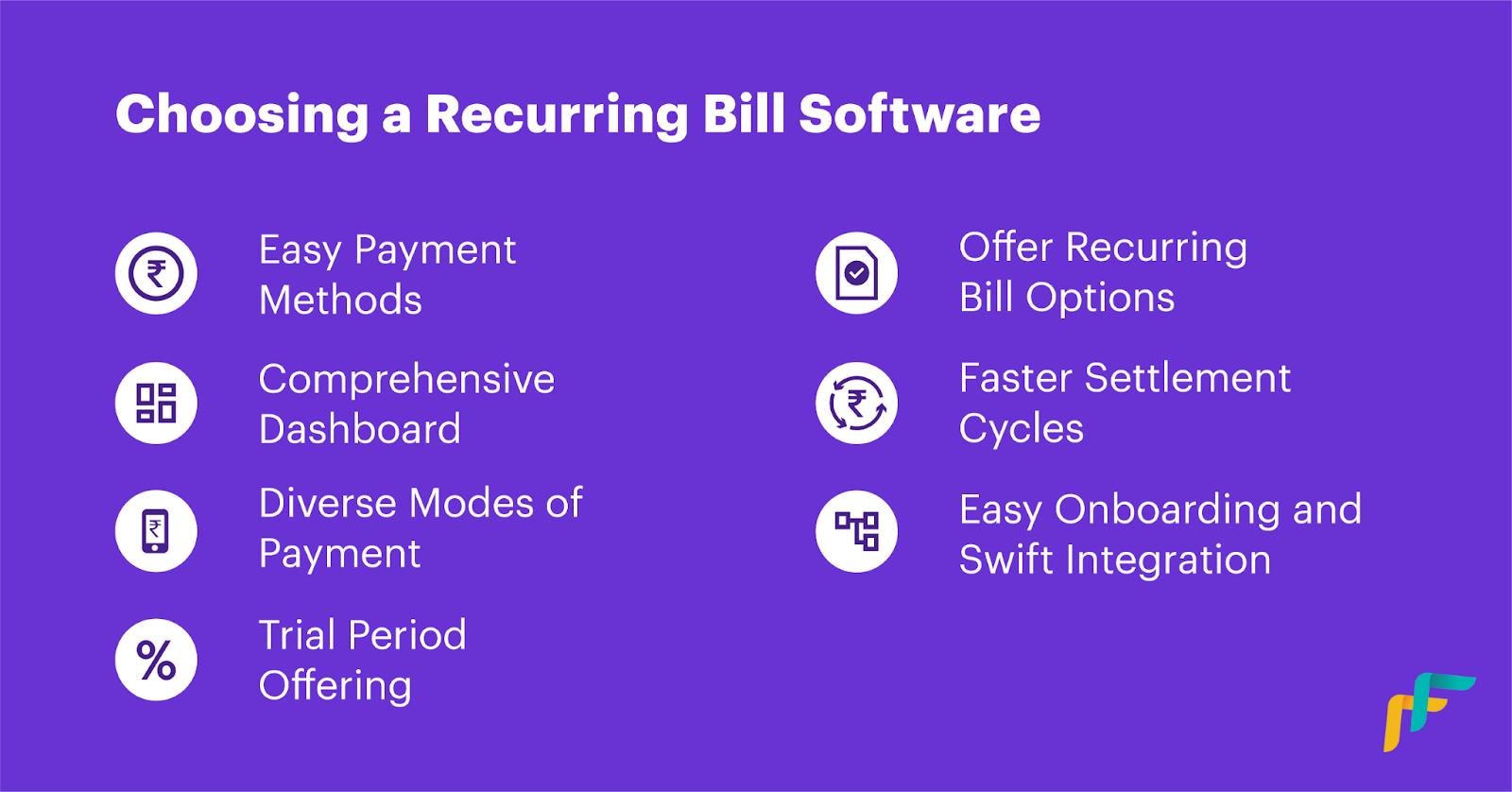 Recurring Bill