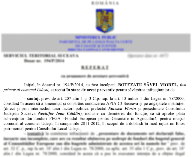 Șeful CJ Suceava, Cătălin Nechifor, vizat de DNA într-un dosar de șantaj și fraudare de fonduri europene