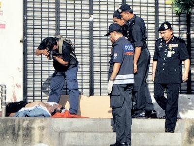 Pengawal keselamatan mati dipukul