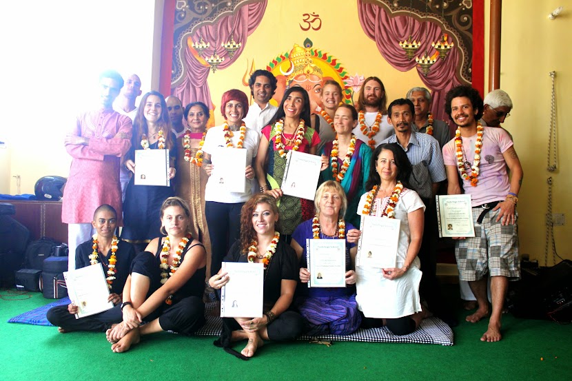 Yoga Teacher Training Course's Graduation Ceremony
