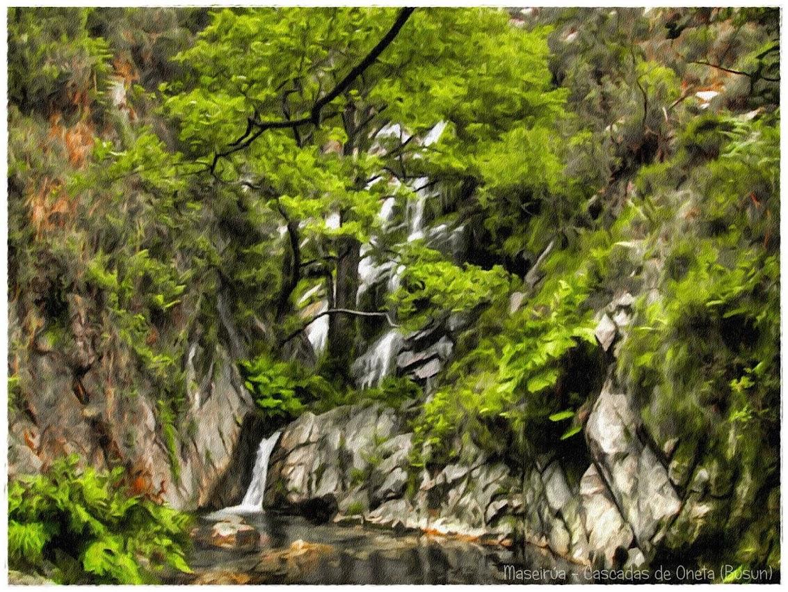 Cascada la Maseirúa - Oneta