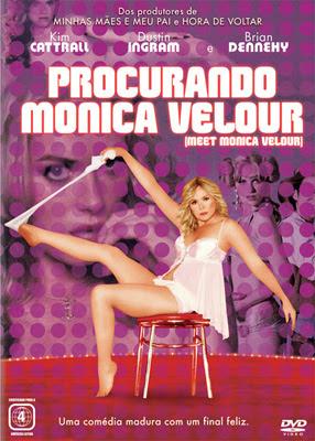 Filme Poster Procurando Mônica Velour DVDRip DVDRip XviD Dual Audio & RMVB Dublado