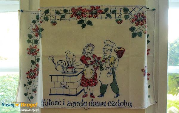 eksponat w izbie pamięci w Ostaszewie
