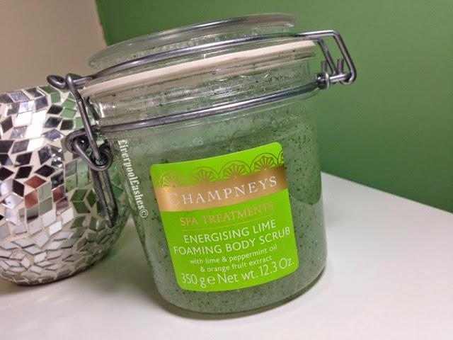 Champneys Energising Lime Foaming Body Scrub