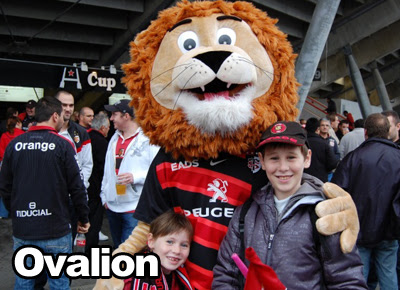 Mascotte rugby Stade Toulousain