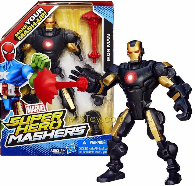 Mô hình Người Sắt Iron Man phiên bản kết hợp rất bổ ích và lý thú