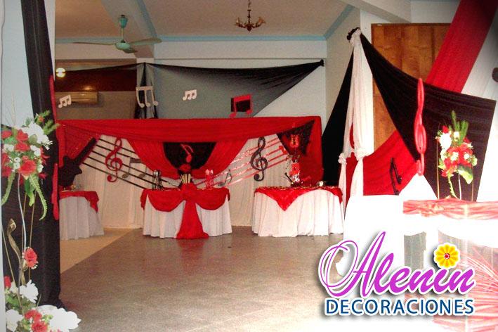 Decoracion Quince Anos Notas Musicales | apexwallpapers.com